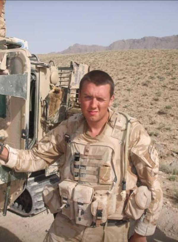 John Beamson British Army