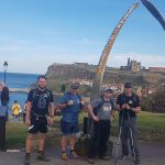 Whalebone Arch Whitby - 100,000 Steps In A Day Challenge