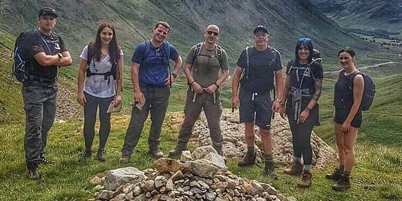 Hiking in the Langdale Valley