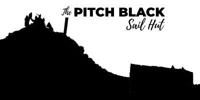 Pitch Black Sail Hut